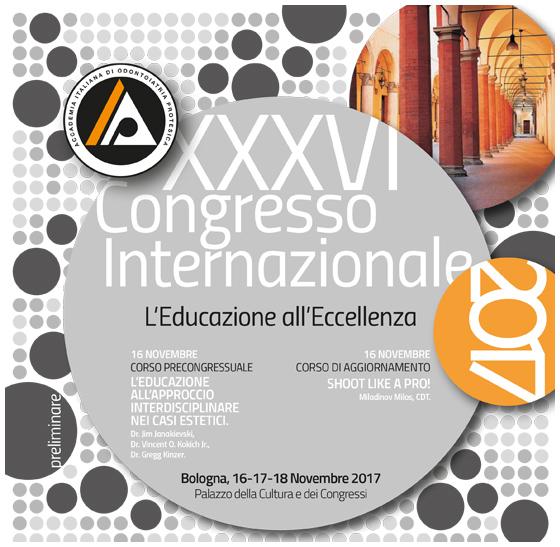 CONGRESSO INTERNAZIONALE AIOP- (ACCADEMIA ITALIANA ODONTOIATRIA PROTESICA)